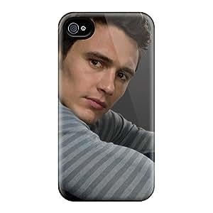 Apple Iphone 4/4s AIx19846nEfL Unique Design Realistic James Franco Celebrities Skin Shock Absorbent Hard Cell-phone Cases -MarcClements