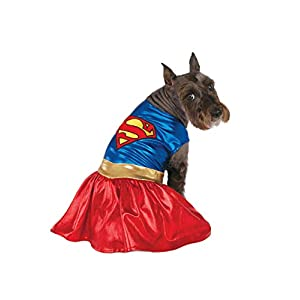 Rubies Costume DC Heroes and Villains Collection Pet Costume-Supergirl