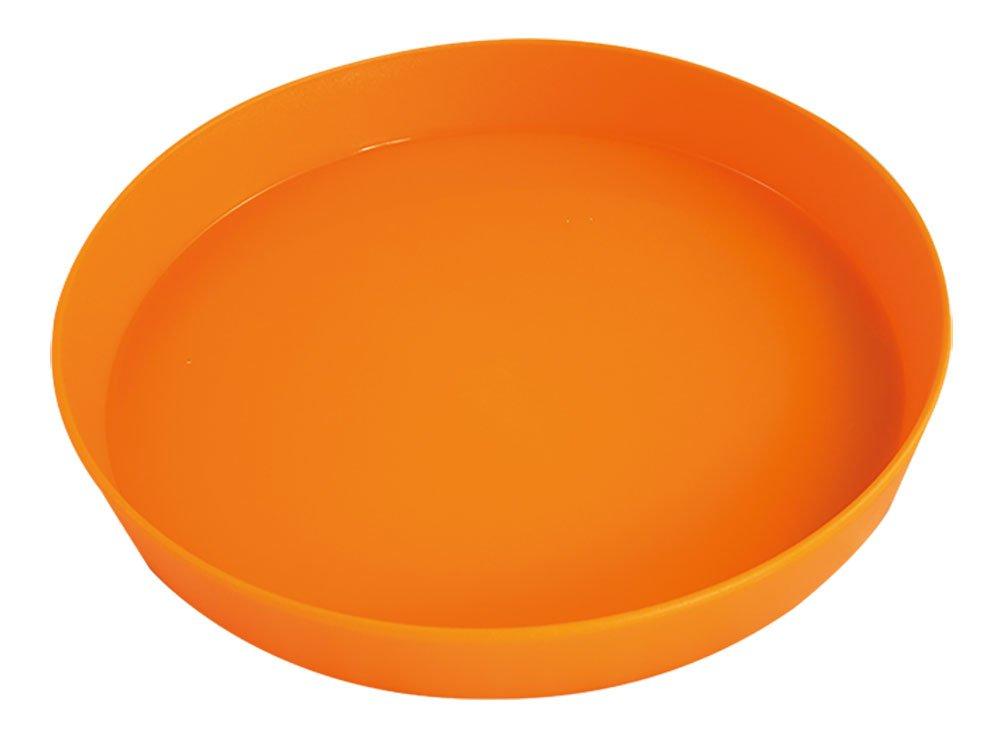 ' bandeja de la porción  en casa de diámetro de color blanco 35 cm anti-slip MeinTablett