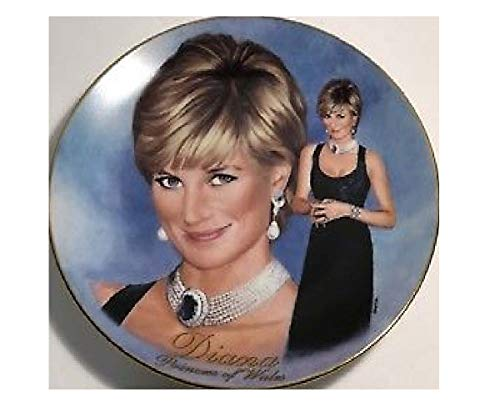 (Princess Diana Plate, Bradford Exchange Completely Charming, Princess Diana A Woman of Style Collector's Plate)