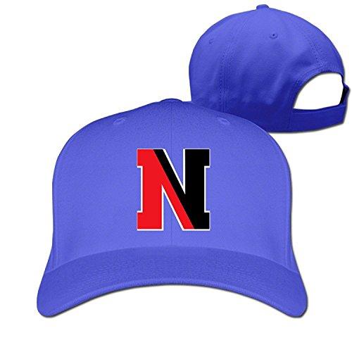 Price comparison product image MZONE Vintage Northeastern University N Logo Adult Hip Hop Caps RoyalBlue