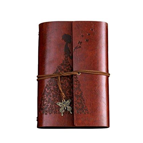 3117dcd99c NEWONESUN Classic kraft Paper Strap Notebook
