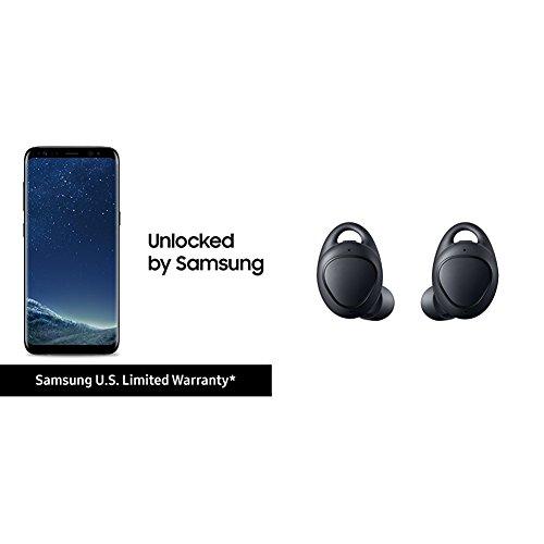 Samsung Galaxy 64GB Unlocked Phone – 6.2″ Screen – US Version (Midnight Black)