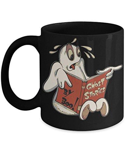 Ghost Stories by Boo Halloween Ghost Coffee Mug ()