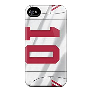 Protector Hard Phone Covers For Iphone 6 (MLW8476hfWo) Provide Private Custom Beautiful New York Giants Image