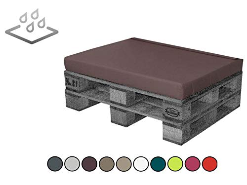 Cojín impermeable para bajo consumo, exterior 120 x 80 x 8 ...