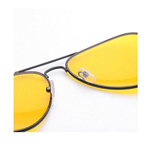 et Homme Transparent Lunettes Frame Eyeglasses F Cadre pour Rondes Pilote Covermason Aviateur Metalique Verres Style Unisexe Rétro Femme Vintage Adultes zAZqa