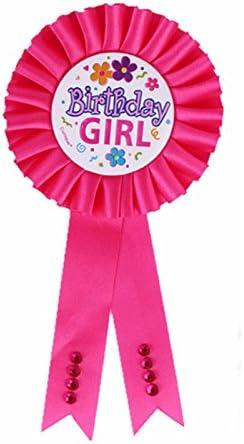 Badge  rosette  number badge  number rosette  birthday  birthday badge  birthday rosette  birthday girl  felt badge  felt rosette