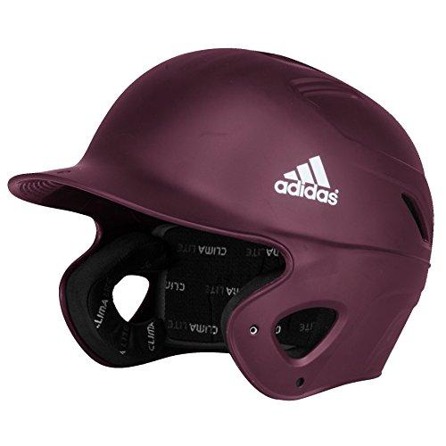 Bat Phenom - adidas S98293 Matte Phenom Batting Helmet, Maroon, Small/Medium