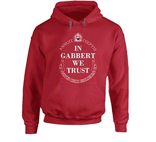 Mad Bro Tees In Blaine Gabbert We Trust San Fransisco Football Fan Hoodie 2XL Red