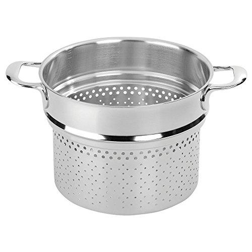 Henckels Stainless Steel Pasta Insert (Demeyere Atlantis 9.4 Inch Pasta Insert, 24cm)