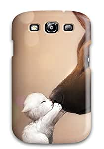 Fashion JkWlDAs14304ugFdS Case Cover For Galaxy S3(dogs Love)
