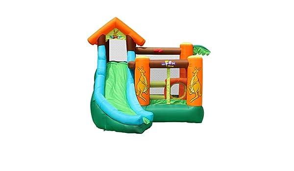 Castillo Hinchable Parque Infantil Al Aire Libre For Niños ...