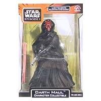 Carácter de Darth Maul coleccionable con sable de luz resplandeciente en la oscuridad de Star Wars