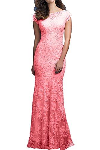 La mia Braut Elegant Hell Gelb Lang Spitze Abendkleider Ballkleider  Abschlussballkleider Jugendweihe Kleider Trumpet Rock Wassermelon 0toaxX e3c7edbcd9