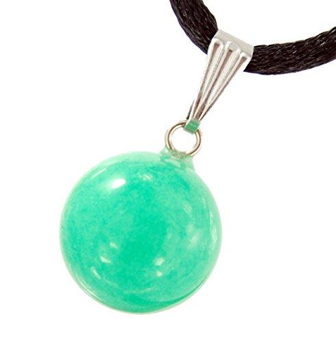 Celestial Collection - 14mm Moon Sphere Ball New Jade (Aventurine) Green, 20