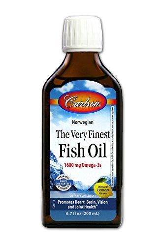 Carlson Finest Nutritional Supplement Lemon