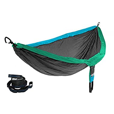 Eagles Nest Outfitters ENO DoubleNest Hammock PCT Pacific Crest Trl+Atlas Straps