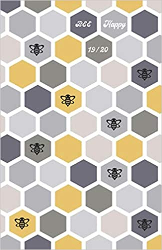 Amazon.com: Bee Happy 19/20: Student Planner 2019 - 2020: 18 ...