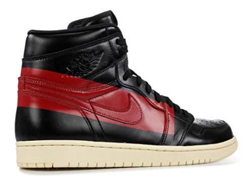 1 Og Red Jordan Scarpe gym Fitness Da Multicolore muslin Uomo High 000 black Defiant 1PPrdp