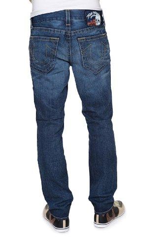 True Religion Slim Leg Jeans JACKSON VINTAGE TRAD , Color: Blue, Size: 40