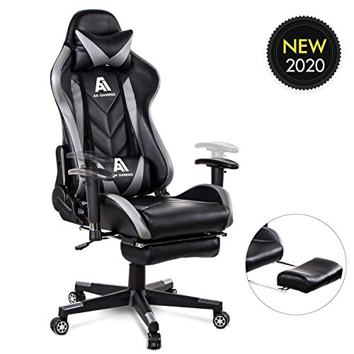AA Products Gaming Chair High Back Ergonomic Computer Racing Chair