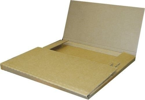 eight24hours-50-economy-variable-depth-kraft-lp-record-album-mailer-boxes-new-item
