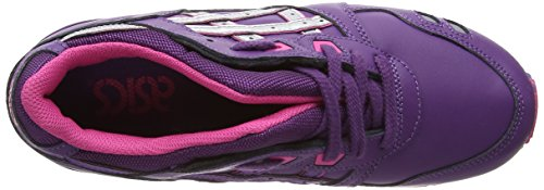 asics Gel-Lyte III - Multisport Outdoor de sintético mujer púrpura - Purple (Purple/Silver 3393)