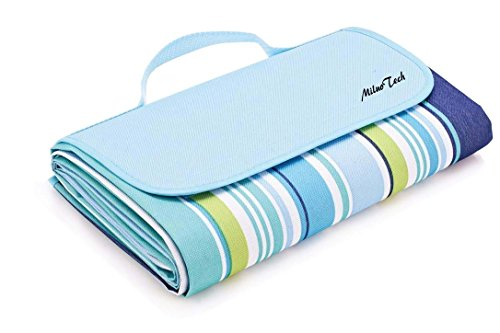 Picnic Mat MiluoTech Foldable Large Picnic Blanket Waterproof Camping Mat for Outdoor Beach Hiking Grass Travelling - 60