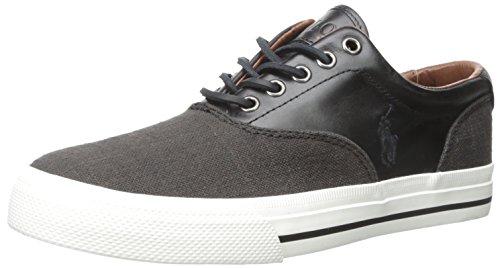 Polo Ralph Lauren Manar Vaughn Sadel Mode Sneaker Svart / Svart
