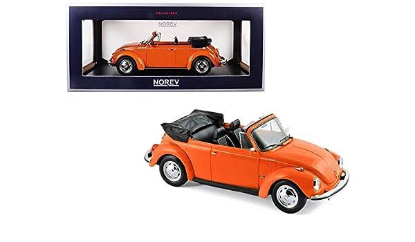 1973 Volkswagen Beetle >> Amazon Com Norev 1973 Volkswagen Beetle 1303 Cabriolet