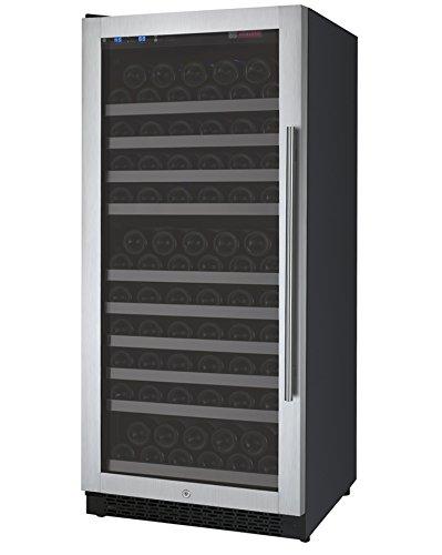 Allavino VSWR128-1SSRN - 128 Bottle Single Zone Wine Refrigerator with Right...