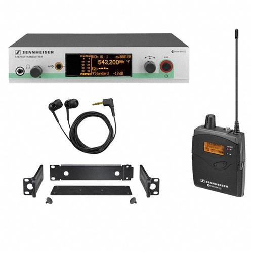 Sennheiser Wireless Monitors (Sennheiser EW 300-2IEM G3 - In-ear Monitoring System - A-Range (516 - 558 MHz))