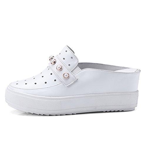 Sandales Blanc Blanc Compensées BalaMasa Femme EU 36 5 f4dnS