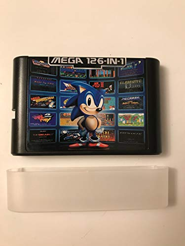 Used, 126 in 1 Sega Genesis Mega Drive Cartridge 16 Bit Multi for sale  Delivered anywhere in USA