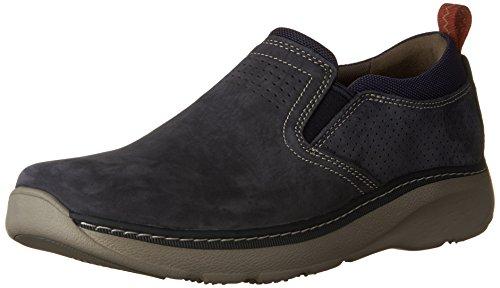 Clarks Heren Charton Gratis Sneaker Navy Nubuck