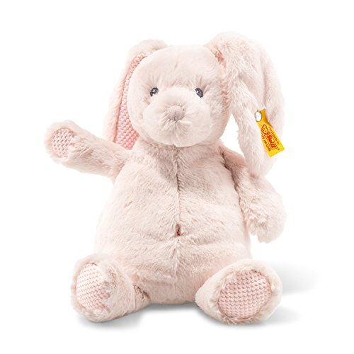 Steiff 240706 Soft Cuddly Friends Belly Rabbit, Pink