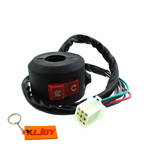 XLJOY 8 Wire ATV KILL LIGHT START SWITCH For Chinese 50cc 70cc 90cc 110cc ATV Quad