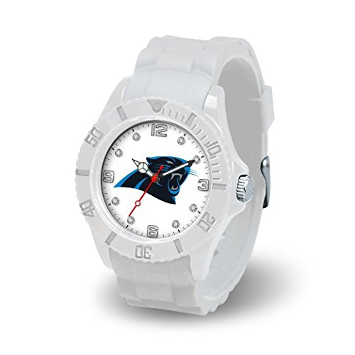 Rico Industries NFL Carolina Panthers Women's Cloud Watch (Sports Panthers Watch)