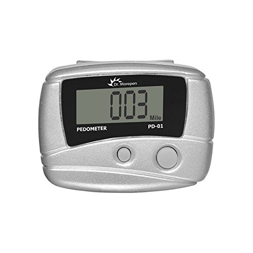 HealthAndYoga Compact Pedometer Automatic Calories