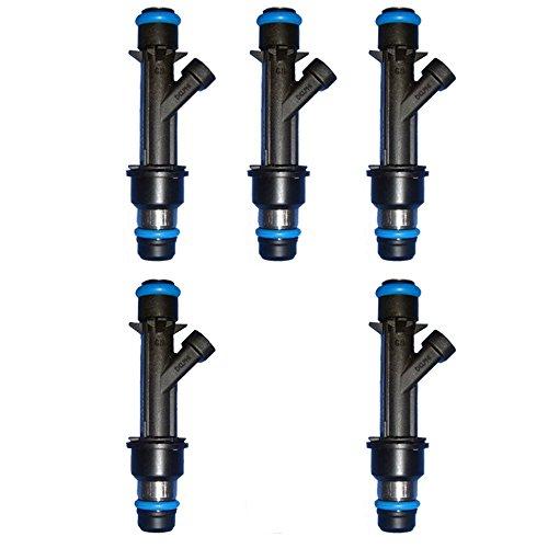 Set of 5 OEM Fuel Injector For Chevrolet GMC Oldsmobile 35L 3.7L L5 17114615 ()