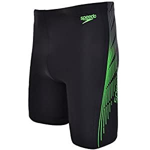 Speedo Mens Placement Curve Panel Swimming Jammers - 40