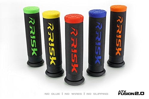 Fusion 2.0 Grip Tech Bonding System - ATV/MTB Red by Risk Racing (Image #2)