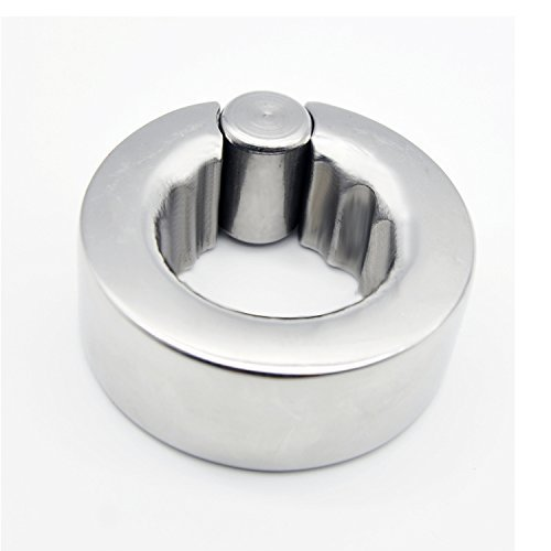 MISSLOVER 2017 Stainless Steel Stimulate Bondage Squeeze Scrotum Testicles Penis Pendant Ball Stretcher Cockring Bdsm Slave Sex Toy 297 1pcs by MISSLOVER