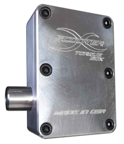 Scooterx Torque Box Performance Pipe Exhaust System for Gas Scooters, Evo, X-treme, Scooterx and More