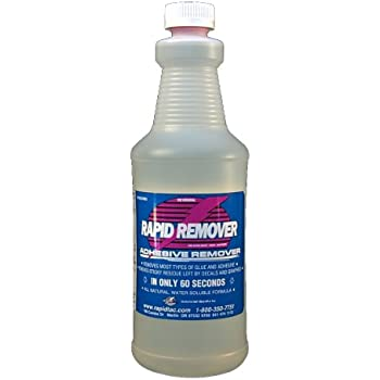 RAPID REMOVER Adhesive Remover for Vinyl Wraps Graphics Decals Stripes 32oz Sprayer