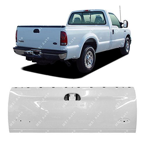 MBI AUTO - Painted YZ Z1 White Tailgate for 1997-2003 Ford F150 1999-2007 Super Duty 99-07, FO1900113