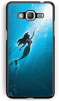 Coque Samsung Galaxy J3 2016 Ariel Petite Sirene Disney Princesse Amour Valentin Princesse tatoué Punk Ariel White Snow Alice REF11048