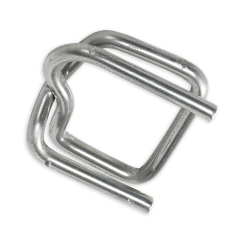 Aviditi PS12HDBUCK Poly Heavy Duty Wire Strapping Buckle, 1/2