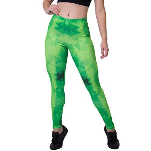 Calça Feminina Legging Sublimada Geomgreen